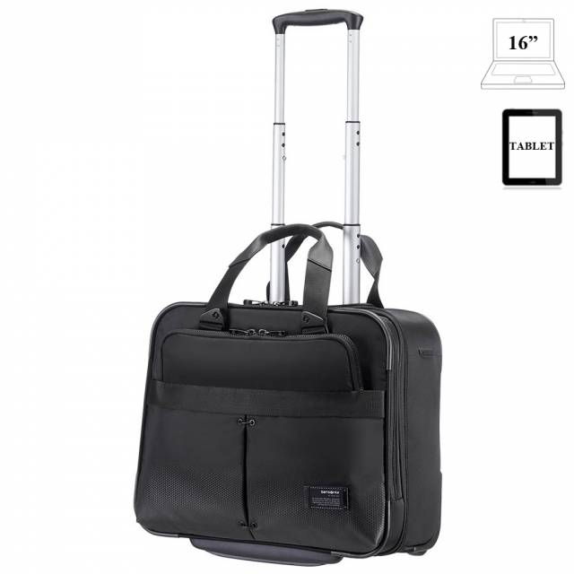 Valise trolley 2 wheels ordinateur Samsonite Cityvibe