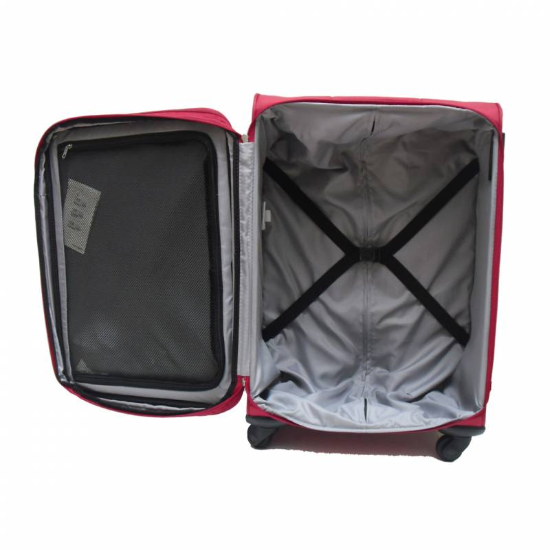 valise spinner expansible 65 cm noir samsonite atolas vos valises. Black Bedroom Furniture Sets. Home Design Ideas