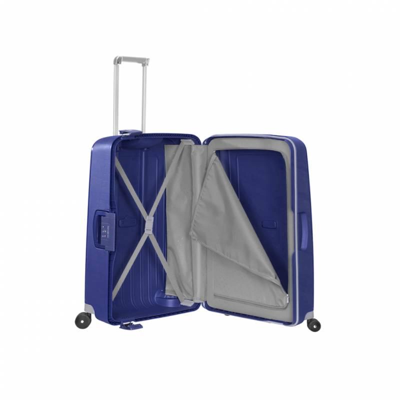 valise samsonite s 39 cure 81 cm bleu i samsonite vos valises. Black Bedroom Furniture Sets. Home Design Ideas