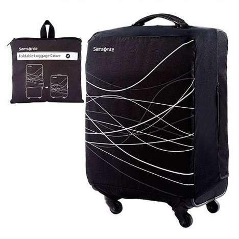 Housse de protection per le valigie medie samsonite for Housse protection valise