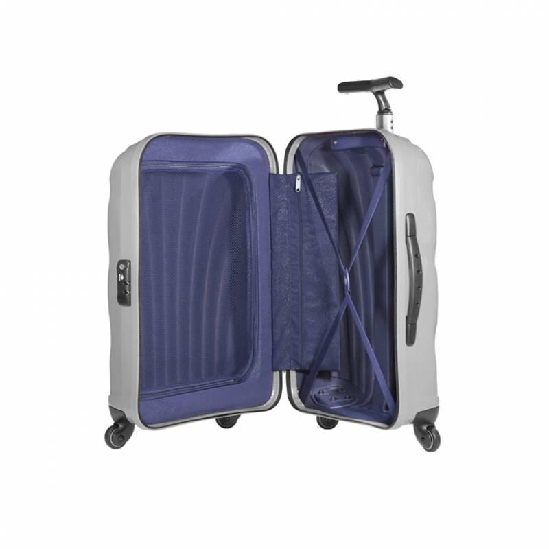 bagage cabine valise spinner 4 roulettes 55 cm samsonite cosmolite vos valises. Black Bedroom Furniture Sets. Home Design Ideas