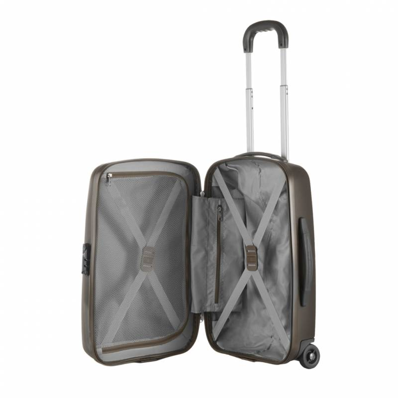 Bagage Cabine, Valise Trolley 2 Roulettes 55 Cm