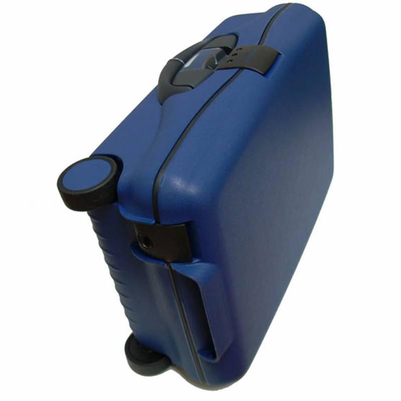 bagage cabine valise trolley 2 roulettes 55 cm noir. Black Bedroom Furniture Sets. Home Design Ideas