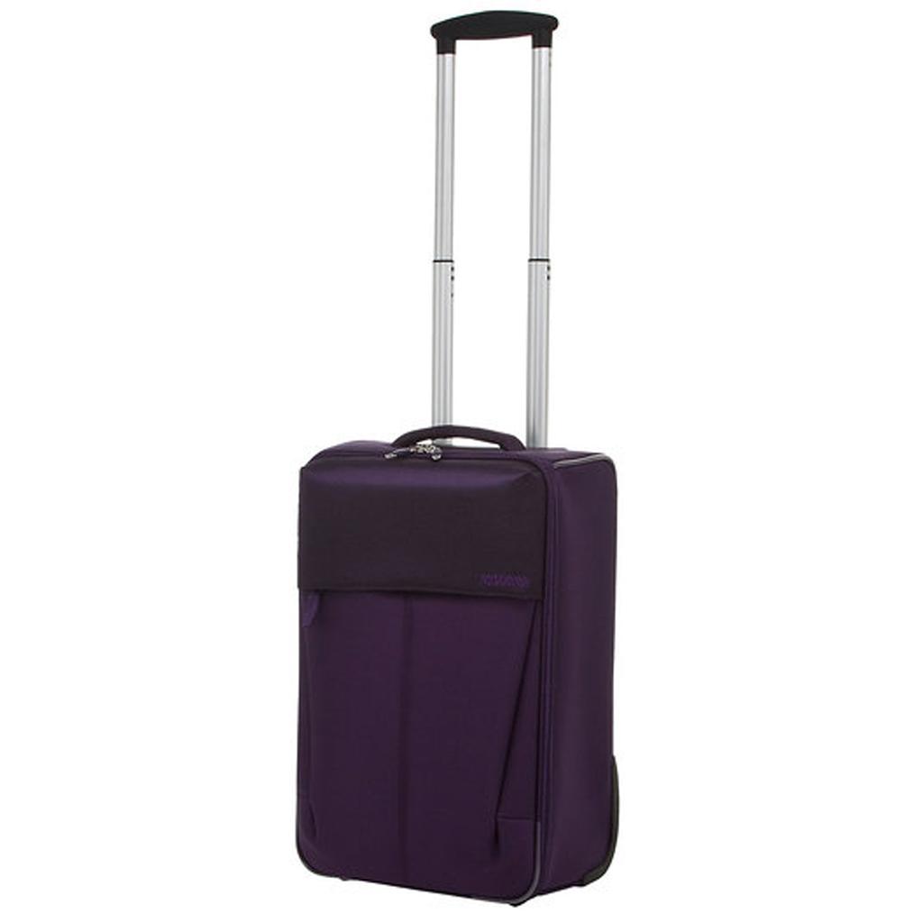 bagage cabine valise trolley 55 cm american tourister genoa violet vos valises. Black Bedroom Furniture Sets. Home Design Ideas