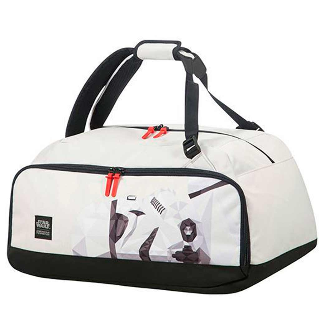 sac dos sac de voyage star wars storm trooper. Black Bedroom Furniture Sets. Home Design Ideas