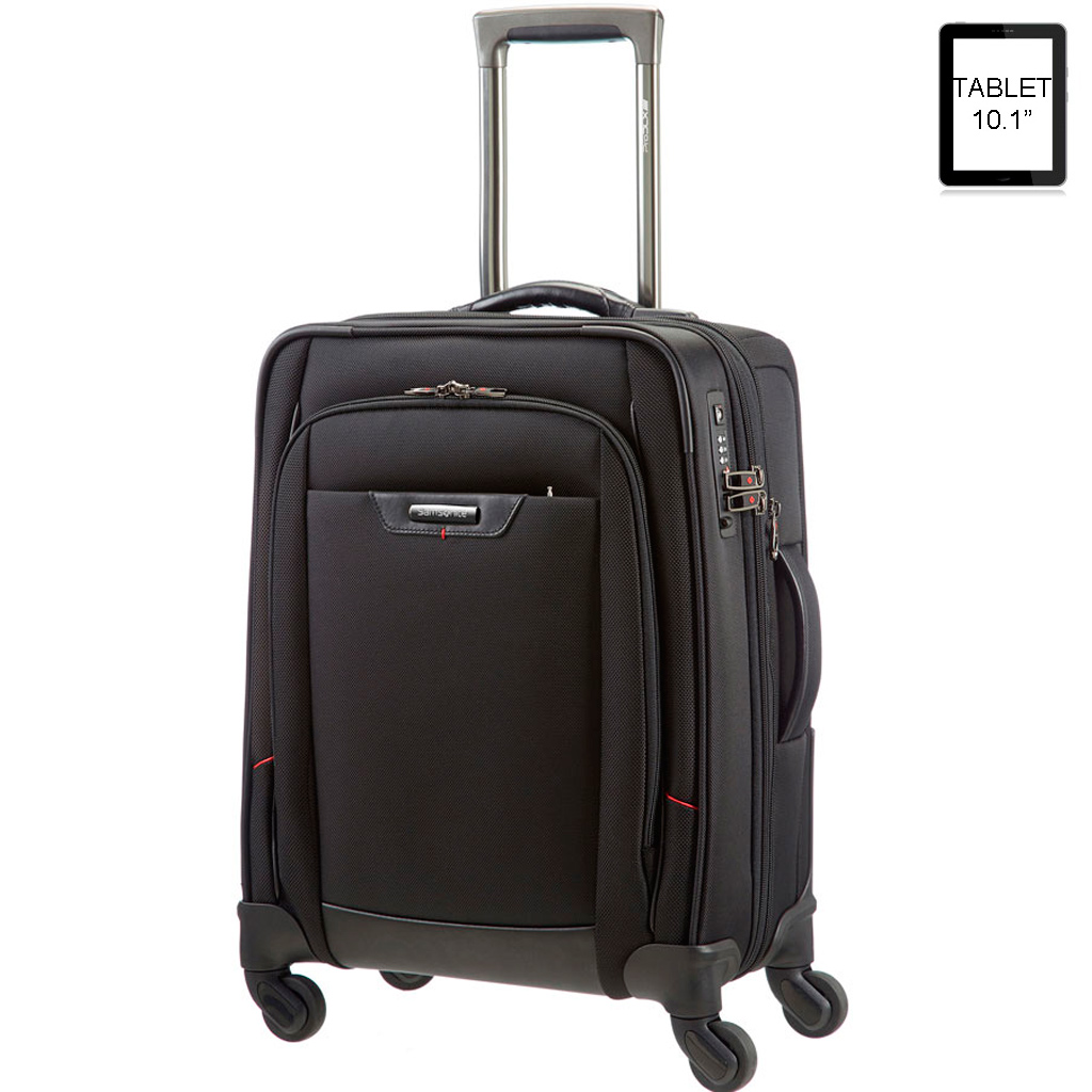 valise cabine expansible samsonite pro dlx 4 business vos valises. Black Bedroom Furniture Sets. Home Design Ideas